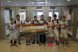 6th Grade Gold Division Champions - Dakota Valley