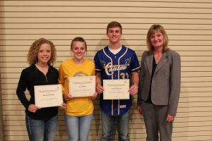 Woods, Rath & Peterson Receive Scholarships