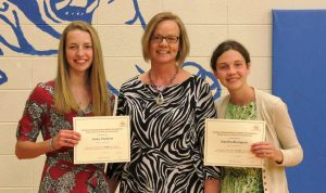 Poppens and Blomgren Receive Scholarships